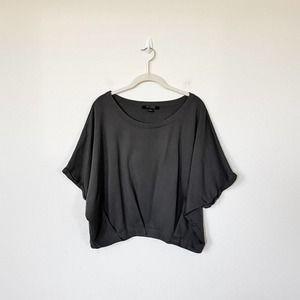 [All Saints] Oversized Dolman Cropped Sweatshirt